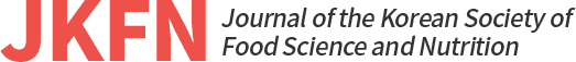 JKFN Journal of the Korean Society of Food Science and Nutrition